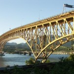 Ironworkers Memorial Bridge Vancouver BC Canada